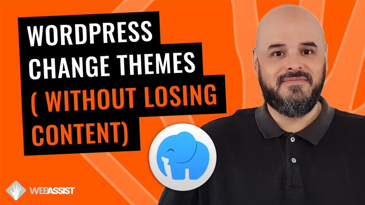 Change your WordPress Theme